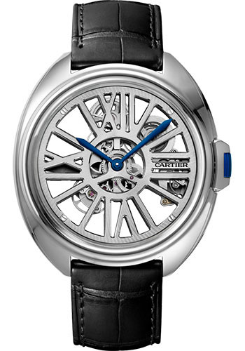 Cartier Watches - Cle de Cartier Skeleton Automatic - Style No: WHCL0008