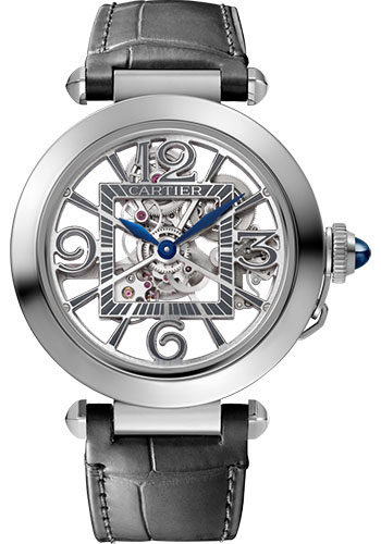 Cartier Watches - Pasha de Cartier 41 mm - Stainless Steel - Style No: WHPA0007