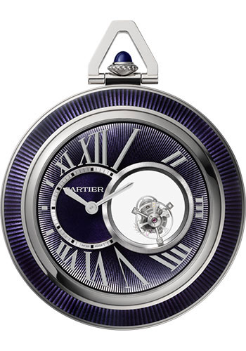 Cartier Watches - Rotonde de Cartier Mysterious Double Tourbillon - Style No: WHRO0011