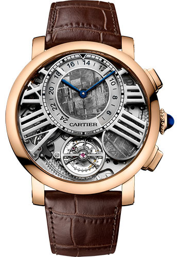 Cartier Watches - Rotonde de Cartier Earth and Moon - Style No: WHRO0013