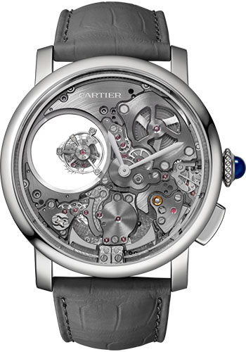 Cartier Watches - Rotonde de Cartier Minute Repeater Mysterious Double Tourbillon - Style No: WHRO0023