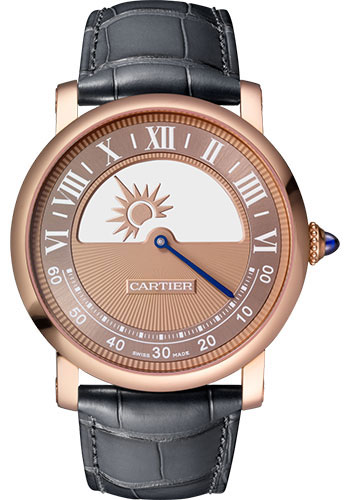 Cartier Watches - Rotonde de Cartier Mysterious Movement - Style No: WHRO0042
