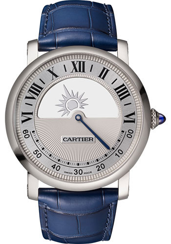 Cartier Watches - Rotonde de Cartier Mysterious Movement - Style No: WHRO0043