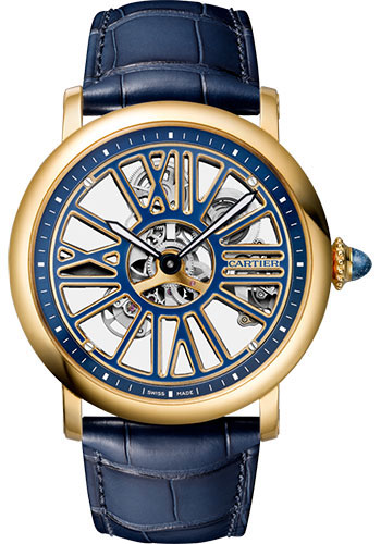 Cartier Watches - Rotonde de Cartier Skeleton - Style No: WHRO0048