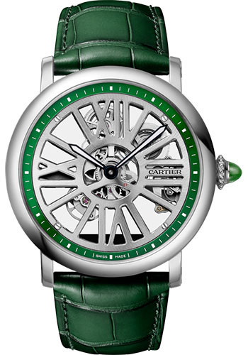 Cartier Watches - Rotonde de Cartier Skeleton - Style No: WHRO0049
