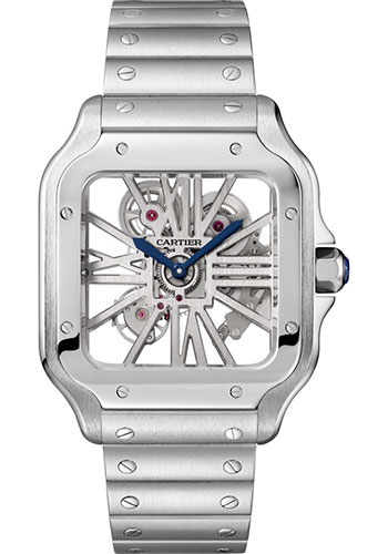 Cartier Watches - Santos de Cartier Large - Stainless Steel - Style No: WHSA0007