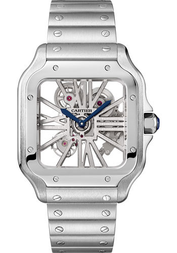 Cartier Watches - Santos de Cartier Large - Stainless Steel - Style No: WHSA0015