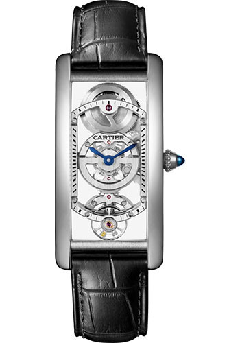Cartier Watches - Tank Cintree Platinum - Style No: WHTA0009
