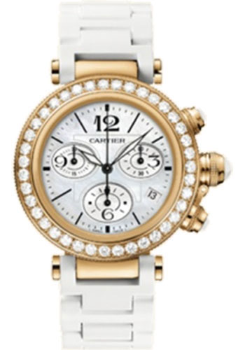 Cartier Watches - Pasha Seatimer Lady 37 mm - Style No: WJ130004