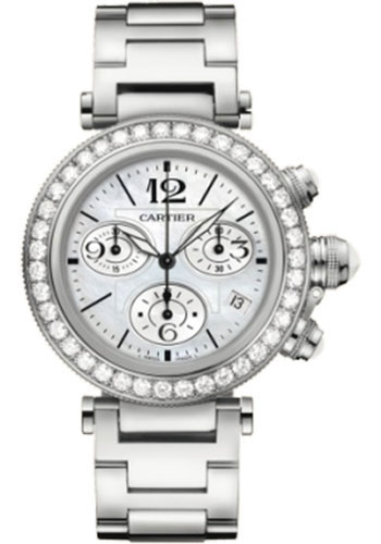 Cartier Watches - Pasha Seatimer Lady 37 mm - Style No: WJ130005