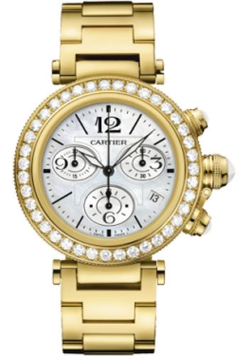 Cartier Watches - Pasha Seatimer Lady 37 mm - Style No: WJ130007