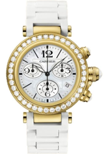 Cartier Watches - Pasha Seatimer Lady 37 mm - Style No: WJ130009