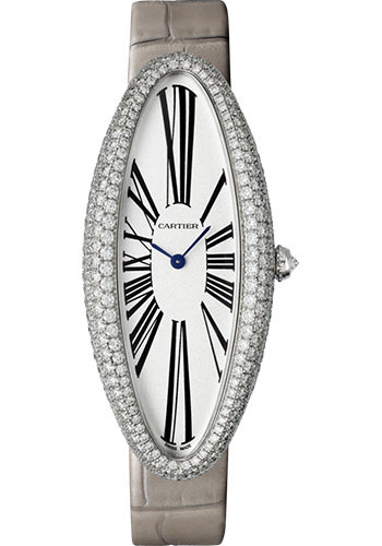 Cartier Watches - Baignoire Allongee Extra Large - White Gold - Style No: WJBA0009