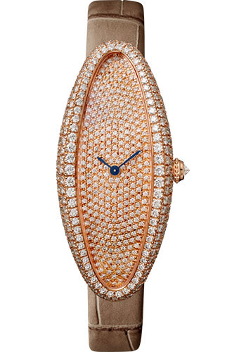Cartier Watches - Baignoire Allongee Medium - Pink Gold - Style No: WJBA0010