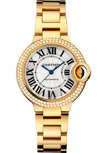 Cartier Watches - Ballon Bleu 33mm - Yellow Gold - Style No: WJBB0002
