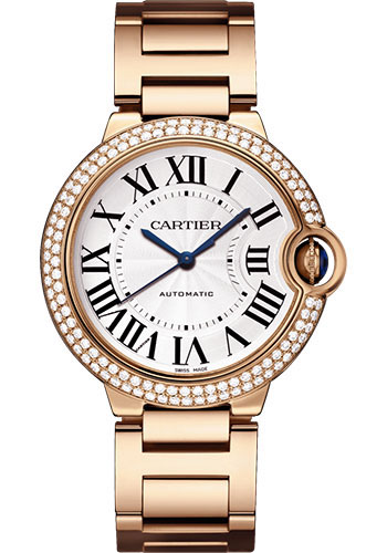 Cartier Watches - Ballon Bleu 36mm - Pink Gold - Style No: WJBB0005