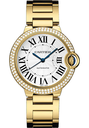 Cartier Watches - Ballon Bleu 36mm - Yellow Gold - Style No: WJBB0007