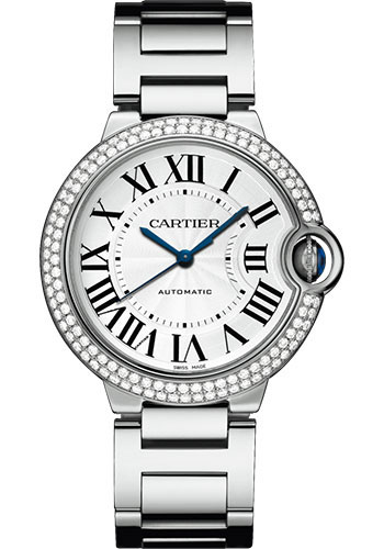 Cartier Watches - Ballon Bleu 36mm - White Gold - Style No: WJBB0008