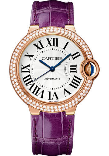 Cartier Watches - Ballon Bleu 36mm - Pink Gold - Style No: WJBB0009