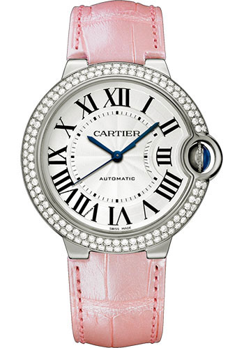 Cartier Watches - Ballon Bleu 36mm - White Gold - Style No: WJBB0011