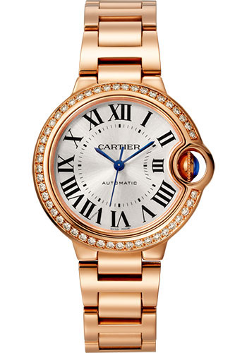 Cartier Watches - Ballon Bleu 33mm - Pink Gold - Style No: WJBB0036