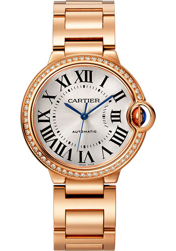 Cartier Watches - Ballon Bleu 36mm - Pink Gold - Style No: WJBB0037