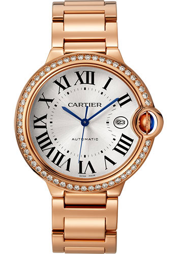 Cartier Watches - Ballon Bleu 42mm - Pink Gold - Style No: WJBB0038