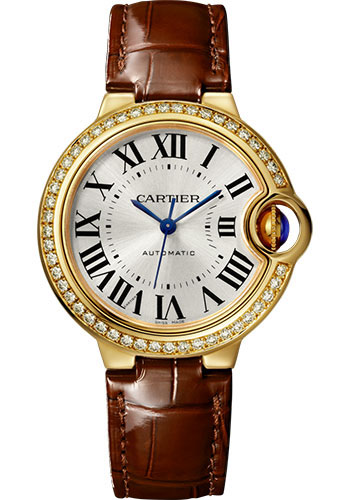 Cartier Watches - Ballon Bleu 33mm - Yellow Gold - Style No: WJBB0040