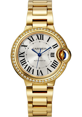 Cartier Watches - Ballon Bleu 33mm - Yellow Gold - Style No: WJBB0042