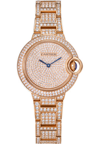 Cartier Watches - Ballon Bleu 33mm - Pink Gold - Style No: WJBB0044