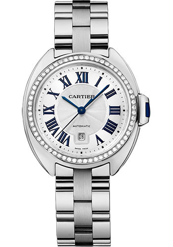 Cartier Watches - Cle de Cartier 31mm - White Gold - Style No: WJCL0002