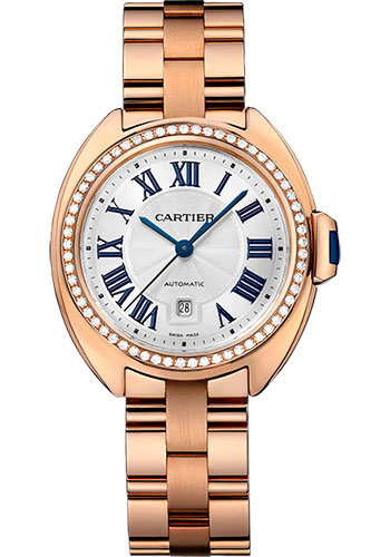 Cartier Watches - Cle de Cartier 31mm - Pink Gold - Style No: WJCL0003
