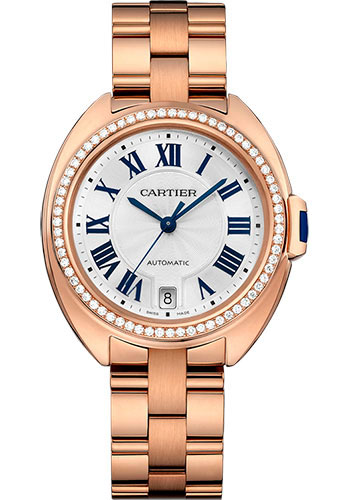 Cartier Watches - Cle de Cartier 35mm - Pink Gold - Style No: WJCL0006