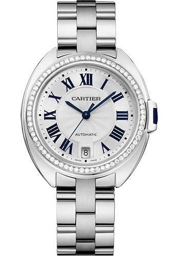 Cartier Watches - Cle de Cartier 35mm - White Gold - Style No: WJCL0007