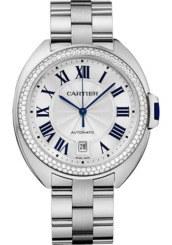 Cartier Watches - Cle de Cartier 40mm - White Gold - Style No: WJCL0008
