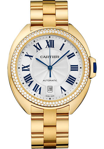Cartier Watches - Cle de Cartier 40mm - Yellow Gold - Style No: WJCL0010