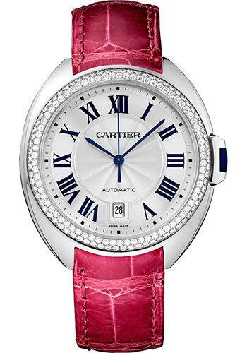 Cartier Watches - Cle de Cartier 40mm - White Gold - Style No: WJCL0011