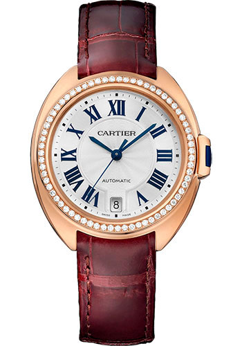 Cartier Watches - Cle de Cartier 35mm - Pink Gold - Style No: WJCL0013