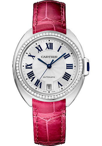Cartier Watches - Cle de Cartier 35mm - White Gold - Style No: WJCL0014