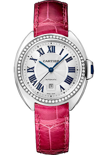 Cartier Watches - Cle de Cartier 31mm - White Gold - Style No: WJCL0015