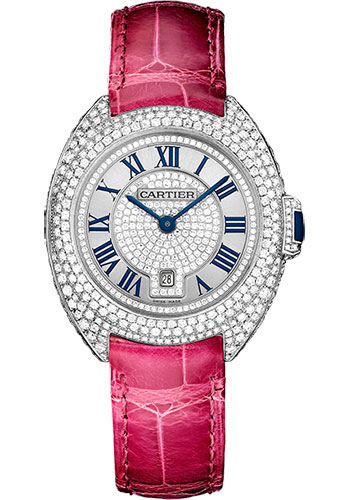 Cartier Watches - Cle de Cartier 31mm - White Gold - Style No: WJCL0017