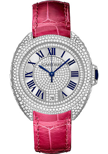 Cartier Watches - Cle de Cartier 35mm - White Gold - Style No: WJCL0018