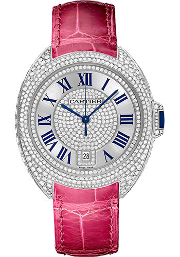 Cartier Watches - Cle de Cartier 40mm - White Gold - Style No: WJCL0019
