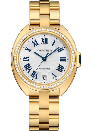 Cartier Watches - Cle de Cartier 35mm - Yellow Gold - Style No: WJCL0023