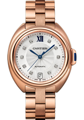 Cartier Watches - Cle de Cartier 35mm - Pink Gold - Style No: WJCL0033