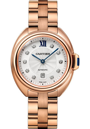 Cartier Watches - Cle de Cartier 31mm - Pink Gold - Style No: WJCL0034