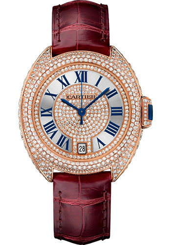 Cartier Watches - Cle de Cartier 35mm - Pink Gold - Style No: WJCL0036