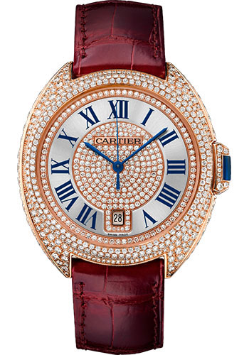 Cartier Watches - Cle de Cartier 40mm - Pink Gold - Style No: WJCL0037