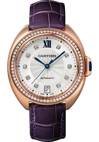 Cartier Watches - Cle de Cartier 35mm - Pink Gold - Style No: WJCL0039