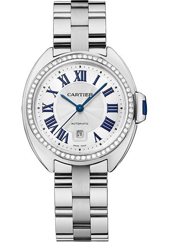 Cartier Watches - Cle de Cartier 31mm - White Gold - Style No: WJCL0043
